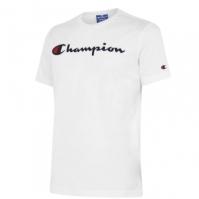 Tricou cu imprimeu Champion alb ww001