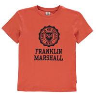 Tricou cu imprimeu Franklin and Marshall