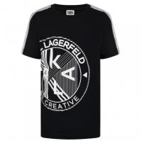 Tricou cu imprimeu Karl Lagerfeld pentru baieti