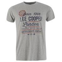 Tricou cu imprimeu Lee Cooper Large Vintage pentru Barbati