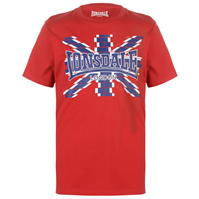 Tricou cu imprimeu Lonsdale LDN pentru Barbati