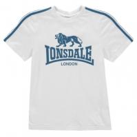 Tricou cu imprimeu Lonsdale pentru baietei