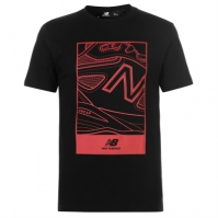 Tricou cu imprimeu New Balance Shoe pentru Barbati