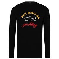 Tricou cu imprimeu Paul And Shark cu maneca lunga Large