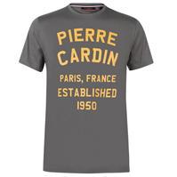 Tricou cu imprimeu Pierre Cardin Large pentru Barbati