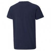 Tricou cu imprimeu Puma No1 bleumarin alb