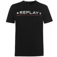 Mergi la Tricou cu imprimeu Replay Star