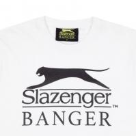 Tricou cu imprimeu Slazenger Banger