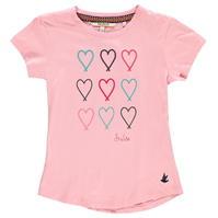Tricou cu imprimeu SoulCal pentru fetite
