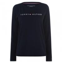 Mergi la Tricou cu imprimeu Tommy Bodywear cu Maneca Lunga
