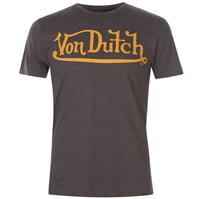 Tricou cu imprimeu Von Dutch