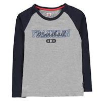 Bluza maneca lunga Franklin and Marshall Varsity