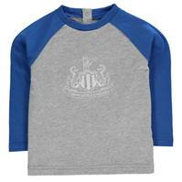 Bluza maneca lunga NUFC Crest pentru baieti pentru Bebelusi