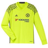 Tricou cu maneca lunga portari adidas Chelsea Home 2016 2017 pentru copii