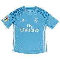 Tricou cu maneca lunga portari adidas Real Madrid Home 2016 2017 pentru copii