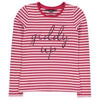Tricou cu Maneca Lunga Requisite Giddy Up pentru fete