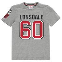 Tricou cu maneca scurta Lonsdale pentru baietei