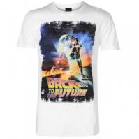 Tricou cu personaje Back to the Future pentru Barbati