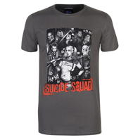 Tricou cu personaje Suicide Squad pentru Barbati