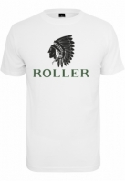 Tricou cu role Indianer alb Mister Tee