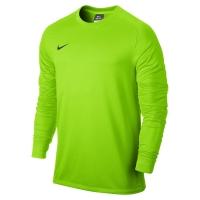 Bluza pentru portar Nike PARK GOALIE II lime 588418 303
