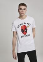Tricou Deadpool Chimichanga alb Merchcode