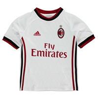 Tricou Deplasare adidas AC Milan 2017 2018 pentru copii