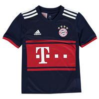 Tricou Deplasare adidas Bayern Munich 2017 2018 pentru copii