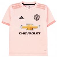 Tricou Deplasare adidas Manchester United 2018 2019 pentru copii