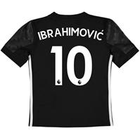 Tricou Deplasare adidas Manchester United Ibrahimovic 2017 2018 pentru Copii
