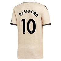 Tricou Deplasare adidas Manchester United Marcus Rashford 2019 2020 pentru copii