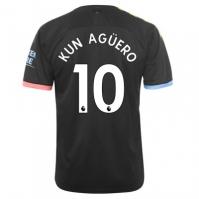Tricou Deplasare Puma Manchester City Sergio Aguero 2019 2020