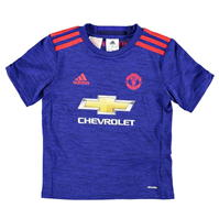 Tricou Deplasare adidas Manchester United 2016 2017 pentru copii