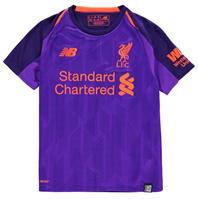 Tricou Deplasare New Balance Liverpool 2018 2019 pentru copii