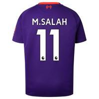 Tricou Deplasare New Balance Liverpool Mohamed Salah 2018 2019 pentru copii