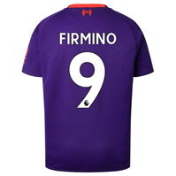 Tricou Deplasare New Balance Liverpool Roberto Firmino 2018 2019 pentru copii
