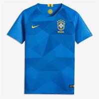 Tricou Deplasare Nike Brazil 2018 pentru copii