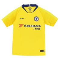 Tricou Deplasare Nike Chelsea 2018 2019 pentru copii