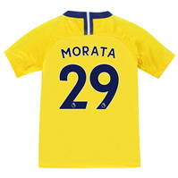 Tricou Deplasare Nike Chelsea Alvaro Morata 2018 2019 pentru copii