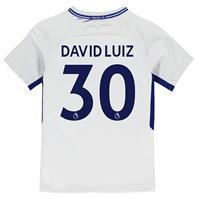 Tricou Deplasare Nike Chelsea David Luiz 2017 2018 pentru copii