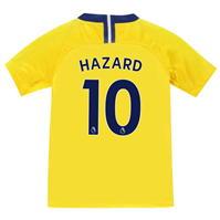 Tricou Deplasare Nike Chelsea Eden Hazard 2018 2019 pentru copii
