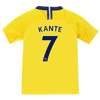 Tricou Deplasare Nike Chelsea Ngolo Kante 2018 2019 pentru copii
