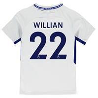 Tricou Deplasare Nike Chelsea Willian 2017 2018 pentru copii
