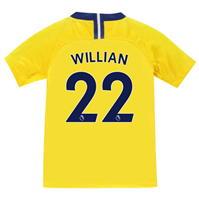 Tricou Deplasare Nike Chelsea Willian 2018 2019 pentru copii