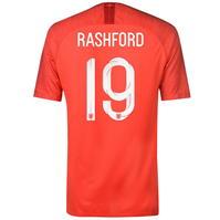 Tricou Deplasare Nike England Marcus Rashford 2018