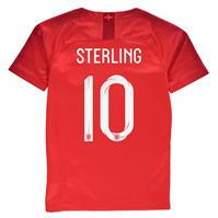 Tricou Deplasare Nike England Raheem Sterling 2018 pentru copii