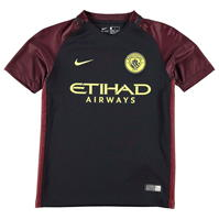Tricou Deplasare Nike Manchester City 2016 2017 pentru copii