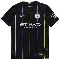 Tricou Deplasare Nike Manchester City 2018 2019 pentru copii