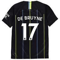 Tricou Deplasare Nike Manchester City Kevin De Bruyne 2018 2019 pentru copii