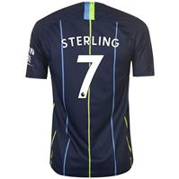 Tricou Deplasare Nike Manchester City Raheem Sterling 2018 2019